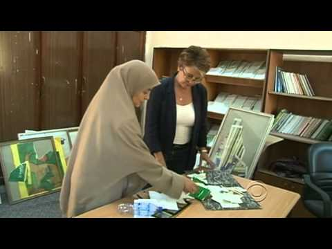The CBS Evening News with Scott Pelley - Back to school in Tripoli, minus Qaddafi