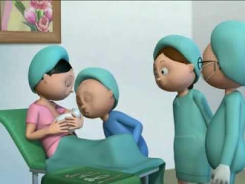 Baby Bubbly - an exclusive breastfeeding cartoon (Thai version)
