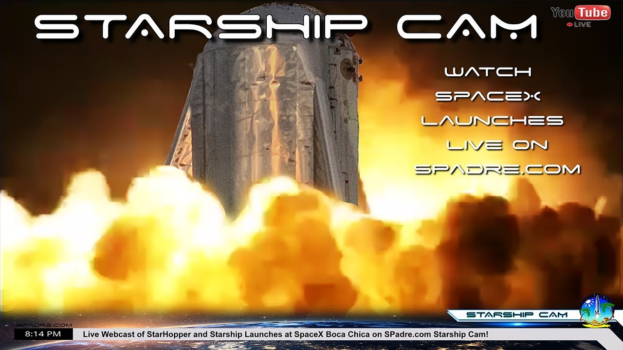 South Padre Island Texas SpaceX Boca Chica Starship Cam