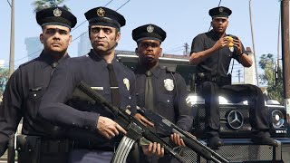 GTA 5 - Police Missions With Cop Trevor! (Story Mode)