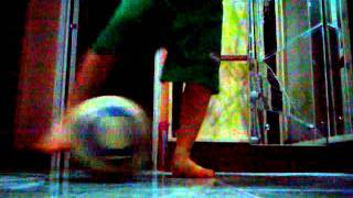 My invented soccer trick