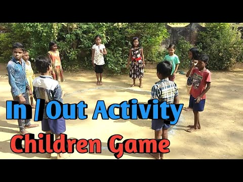 In Out Activity || kids game ||Best child game || Fun Game || Lamsinga ||