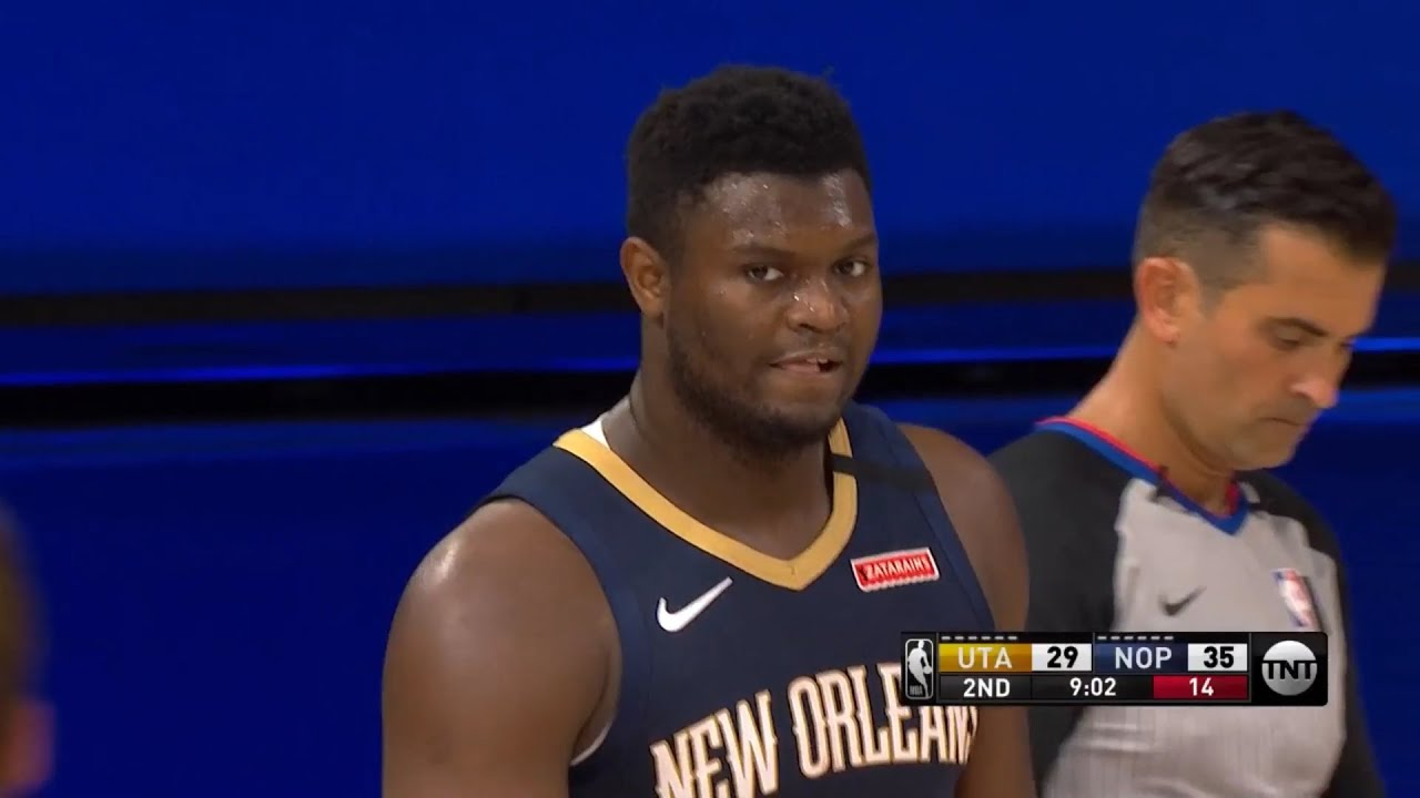 PELICANS vs JAZZ - 1st Half Highlights | NBA Restart