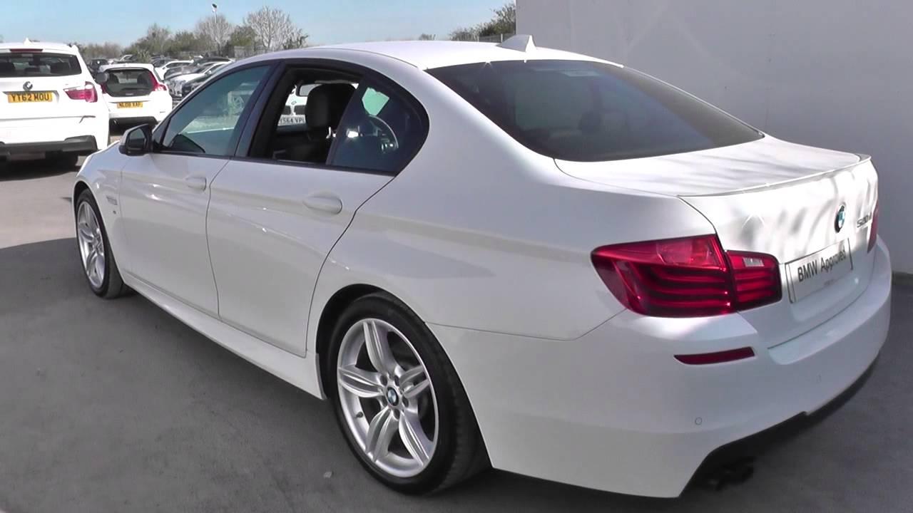 BMW 5 SERIES 520d 190 M Sport 4dr Step Auto U19517  YouTube