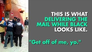 Brooklyn mailman arrested by NYPD after yelling at them
