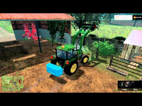 Episode 8 Carrière suivie La Vieille France / Farming Simulator 2015 MULTI