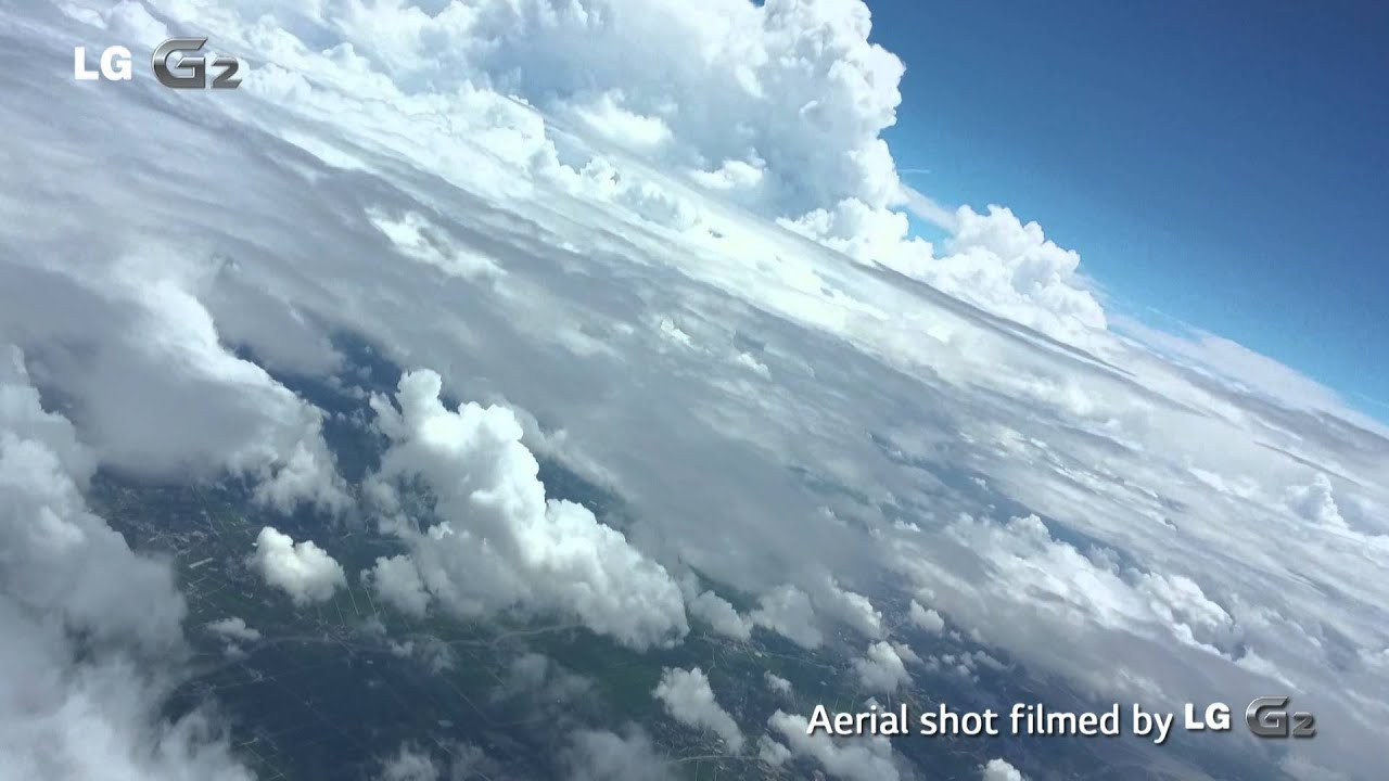 Lg G2 Film The Earth From The Stratosphere With 13 Mp