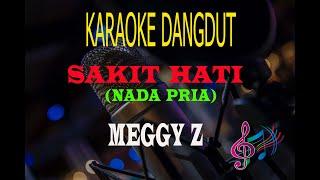 Karaoke Sakit Hati Nada Pria - Meggy Z (Karaoke Dangdut Tanpa Vocal)