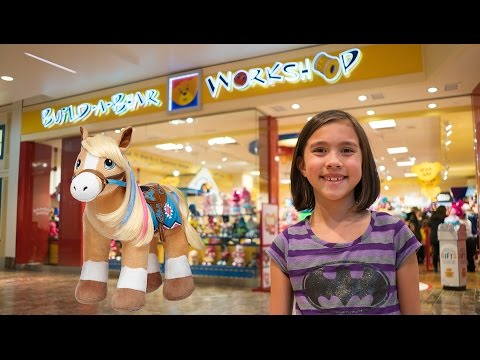I BOUGHT A PONY at Build-A-Bear!