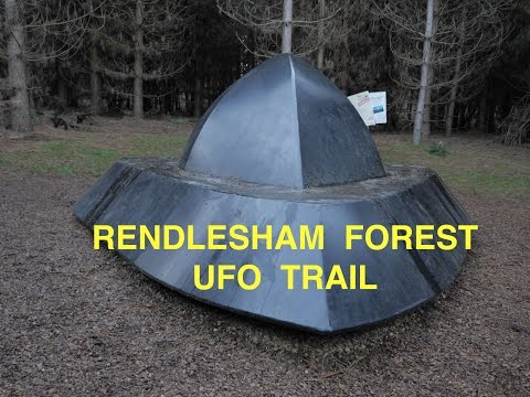 Rendlesham Forest UFO Trail - Britain's Roswell / Bentwaters Incident
