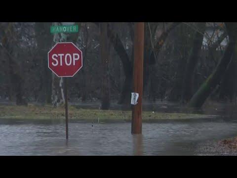 Heavy rainfall floods