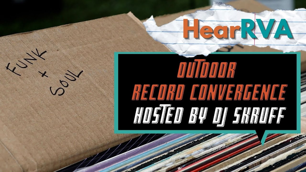 Outdoor Record Convergence- Hosted by DJ Skruff