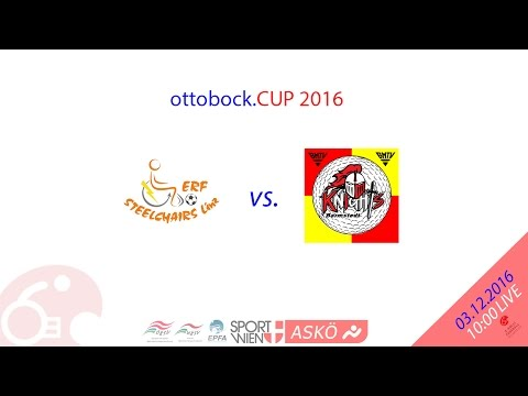 ottobock.CUP2016 CL Steelchairs Linz (AT) vs. Knights Barmstedt MTV (DE)