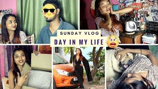 SUNDAY VLOG - A DAY IN MY LIFE | MEET SOMEONE SPECIAL - SECRET GUEST? PR UNBOXING | BEHIND THE SCENE