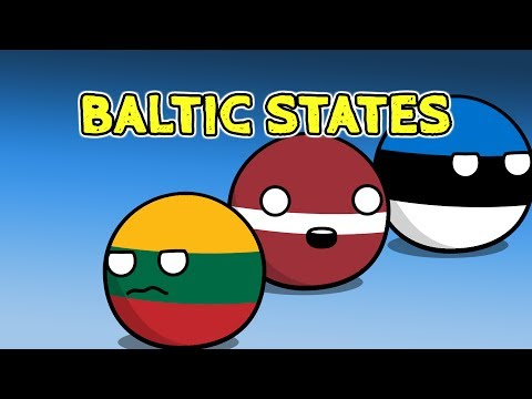 Poland anger issues | Baltic states - Countryballs thumbnail