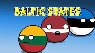 Poland anger issues | Baltic states - Countryballs