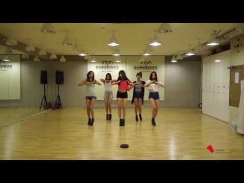 [EXID(이엑스아이디)] 위아래 안무 연습 영상 Sexy Ver.