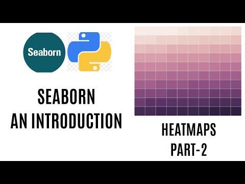 Heatmap In Python   Seaborn Python Tutorial   Seaborn Heatmaps
