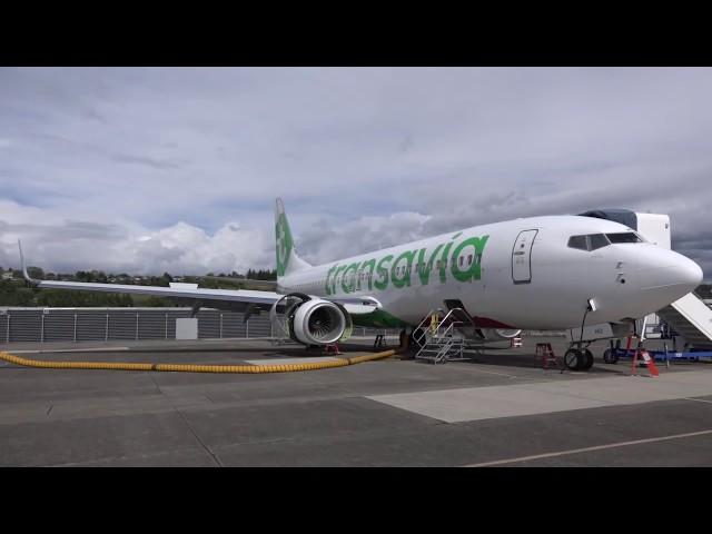 [FR] - REPORTAGE INEDIT : Convoyage Boeing 737 Transavia à paris. Usine boeing