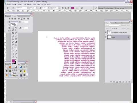 Tutorial Photoshop : Siluetear texto