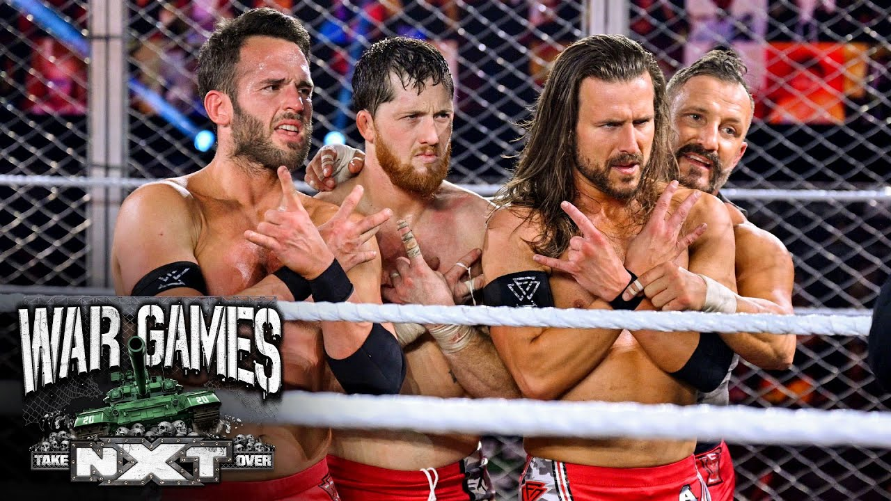 The Undisputed ERA celebrate WarGames victory: WWE Network Exclusive, Dec.  6, 2020 - YouTube