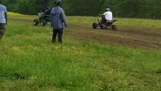 4 wheeler drag racing