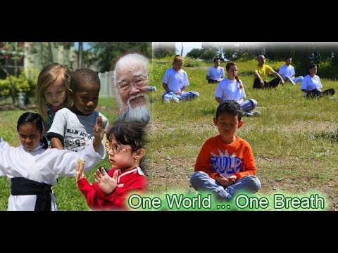 Opening Statement of World Tai Chi & Qigong Day in Many Languages-One World ... One Breath