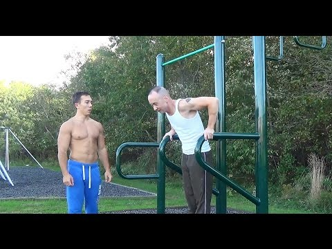 OUTDOOR FITNESS WORKOUT WITH TONY - Bodyweight Fitness Bodybuilding Calisthenics (Ocean, NJ)