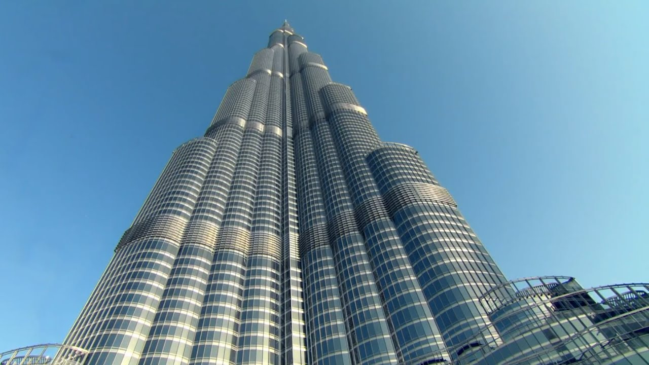 Explore Views of the Burj Khalifa with Google Maps - YouTube