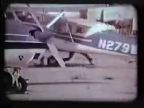 FAA Hand Propping Accident Video 1