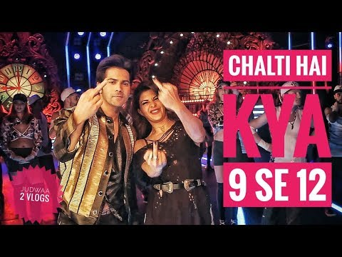 """Chalti hai kya 9 se 12"" Ft. Jacqueline Fernandez & Varun Dhawan | ShaanMu"