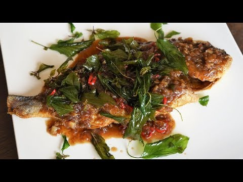 Fish With Three-Flavored Sauce - Morgane Recipes