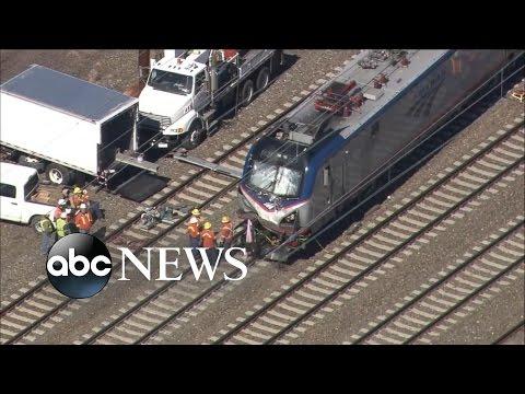 Amtrak Train Derails in Pennsylvania