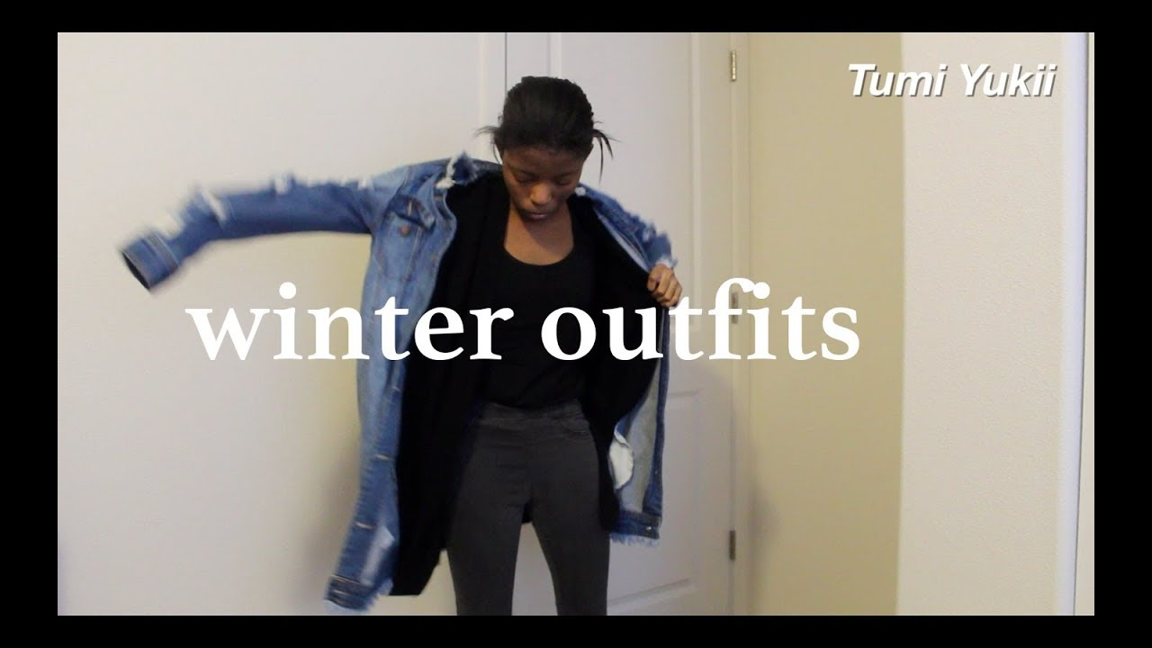 WINTER OUTFIT IDEAS // 2018-2019