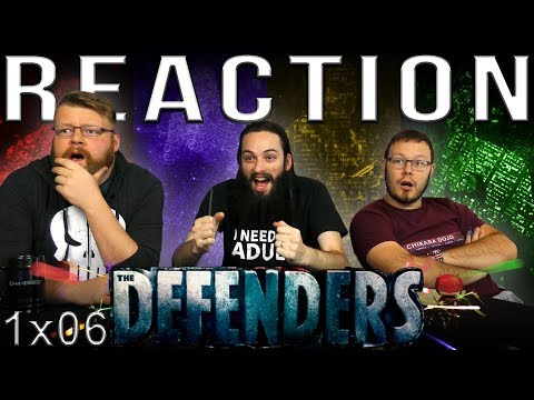 """Marvel's The Defenders 1x6 REACTION!! """"Ashes, Ashes"""""""
