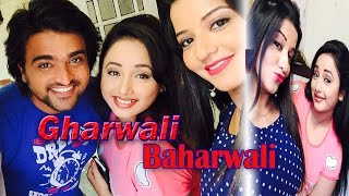 Gharwali Baharwali Bhojpuri Movie Shooting Still II Rani Chatterjee, Monalisa II Teaser II Songs