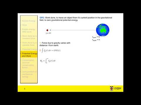 Work and Energy 4 - PE part1