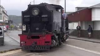 Steam of Welsh Highland Railway UK (Jun.2013) 2 イギリス ウェールズハイランド鉄道の蒸気機関車(2013年6月) 2
