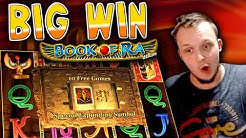 BIG WIN on Book of Ra!