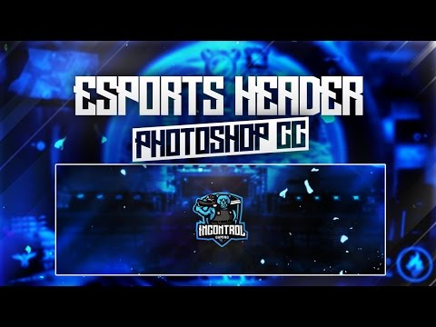 2d Sport Twitter Header Tutorial Photoshop Cc Doovi