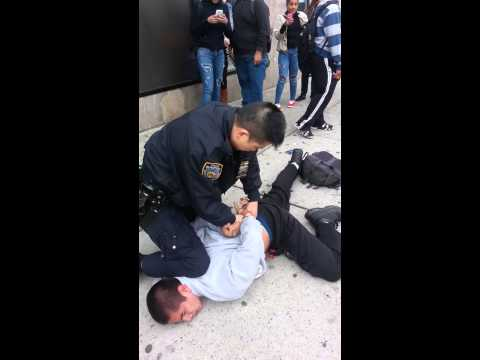 Police Brutality - Officer uses excessive force - New York C