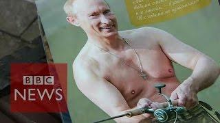 Vladimir Putin calendar: The gift that keeps on giving? - BBC News