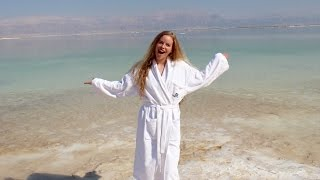 Swimming In The DEAD SEA! | Israel Travel Vlog