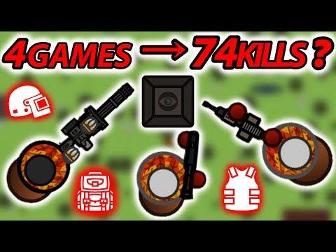 74 KILLS IN 4 GAMES IN SOLO SQUADS   SURVIV.IO