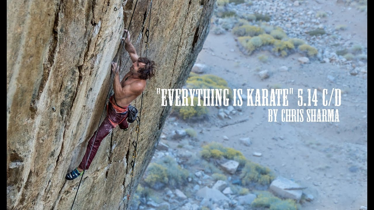 """Download CHRIS SHARMA ON """"EVERYTHING IS KARATE"""" 5.14 C/D"""