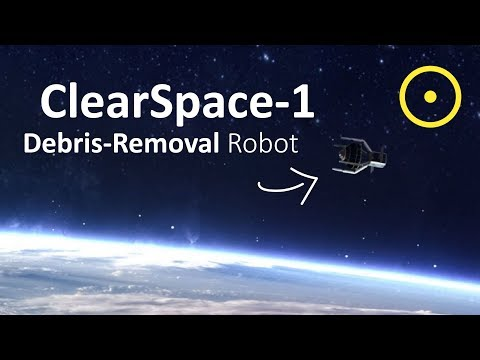 Europe Is Launching A Space Debris Removal Robot