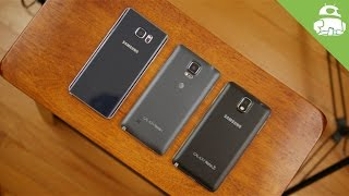 A history of Samsung's Galaxy Note series