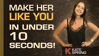 How To Make A Woman Like You In Under 10 Seconds you 検索動画 44