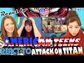 Japanese Girls React To AMERICAN TEENS REACT TO ATTACK ON TITAN