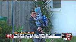 Hillsborough Schools warns parents about incoming cold weather